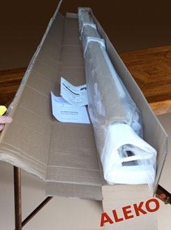 Содержимое упаковки маркизы АЛЕКО